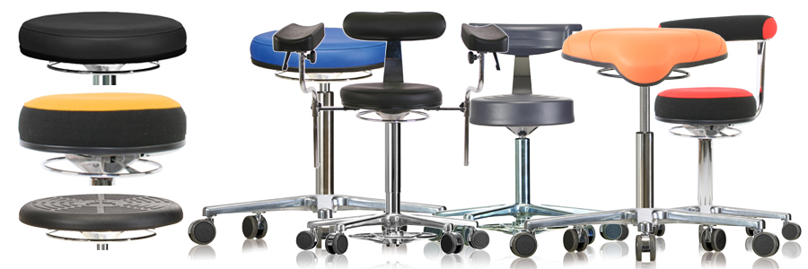 milagon lab stool- medical stool